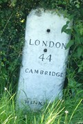 Image for Milestone - Mill Lane, Hinxton, Cambridgeshire, UK.