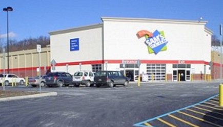 This Sam S Club Has Been A Staple In Eastern Pittsburgh Suburb Since The 1990 Was Renovated At Beginning Of 21st Century