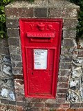 Image for Victorian Wall Post Box - Wordsworth Road - Worthing - West Sussex - UK