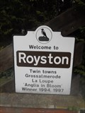 Image for Welcome To Royston, Royston, Hertfordshire