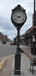 Image for Traditional Post Clock ~ Watertown, South Dakota