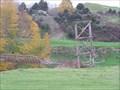 Image for Old   Footbridge. Te Koura. North Is. New Zealand.