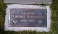 Image for 102 - Florence Wainwright Baldwin - Klamath Memorial Park - Klamath Falls, OR