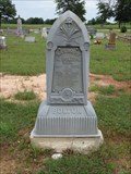 Image for Mrs. Mary A. Bolton - Post Oak Cemetery - Glen Rose, TX