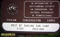 Image for CCC Sign - Leonard Harrison State Park - Wellsboro, Pennsylvania