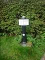 Image for Caldon Canal Milepost - Endon, Staffordshire, England, UK.