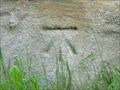 Image for Cut Mark At Base Of Tower Of Church Of All Saints - Ledsham, UK
