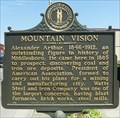 Image for Mountain Vision Historical Marker - Middlesboro, KY