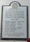 Image for Marble Tablet - St Thomas a Becket - Tugby, Leicestershire