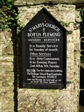 Image for St Mary's Parish Church at Botus Fleming in Cornwall.