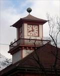Image for Police Station Clock -- Innsbruck, Tirol, Austria