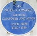 Image for Noel Coward - Gerald Road, London, UK