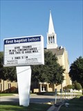 Image for First Baptist Church - Belton, TX
