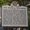 Image for War Memorial Auditorium 3A 226 - Nashville, TN