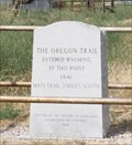 Image for Oregon Trail enters WY -- US 26 nr Torrington WY