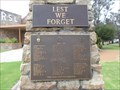 Image for Kojonup War Memorial -  Kojonup,  Western Australia