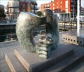 Image for Street sculpture on the GunWharf in Portsmouth UK