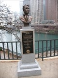 Image for Jean-Baptiste Pointe DuSable bust and plaque - Chicago, IL