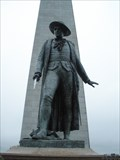 Image for Bunker Hill Monument: Statue of Colonel Prescott - Charlestown, MA, USA