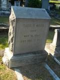 Image for Theodore P. Mood - Magnolia Cemetery - Charleston, SC.