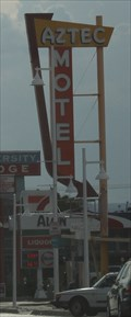 Image for Aztec Motel Sign -- Albuquerque NM