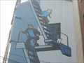 Image for The Adventures of Tintin Mural - Brussels, Belgium