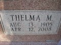 Image for 102 - Thelma M. Pierce - Luther, OK