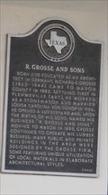 Image for R. Grosse and Sons