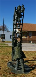 Image for Firemen on a ladder - Edwardsville IL
