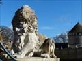 Image for Deux majestieux lions, Bouray-sur-Juine, Essonne, France