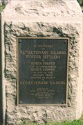 Image for Revolutionary Soldiers, Pioneer Settlers - Seneca, NY