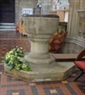 Image for Font, Great Malvern Priory, Great Malvern, Worcestershire, England