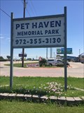 Image for Pet Haven Memorial Park -  Aubrey, TX, US