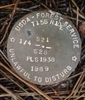 Image for T15S R10E S21 28 1/4 COR - Deschutes County, OR
