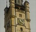 Image for Die Uhr am Rathausturm - Dessau, Sachsen-Anhalt, Deutschland