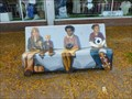 Image for Goodwill Painted Bench - Springfield, MA