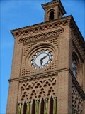Image for Clock ath the tower of Estación de Toledo - Toledo - Spain