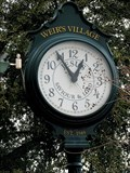 Image for Weir's Village clock -- Dallas, TX