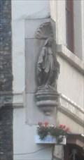 Image for Statue of the Madonna on the Oud St.Jan Souvenir Shop – Katelijnestraat 1, Bruges, Belgium.