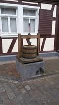 Image for Traubenpresse vor dem Winzerhof - Bad Breisig - RLP - Germany