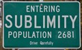 Image for Sublimity, Oregon ~ Population 2681