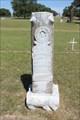 Image for James Moody Bankhead - Millsap Cemetery - Millsap, TX
