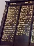 Image for Methodist Honour Roll, WW1 - Clarendon, SA, Australia