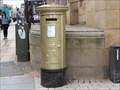 Image for Gold Post Box For Gold Medallist Jessica Ennis - Sheffield, UK