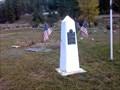 Image for American Legion War Memorial - Valley, Washington