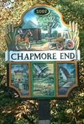Image for Village Sign, Chapmore End, Herts, UK