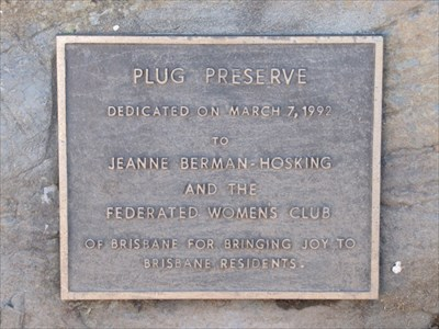 Plaque, Brisbane, CA