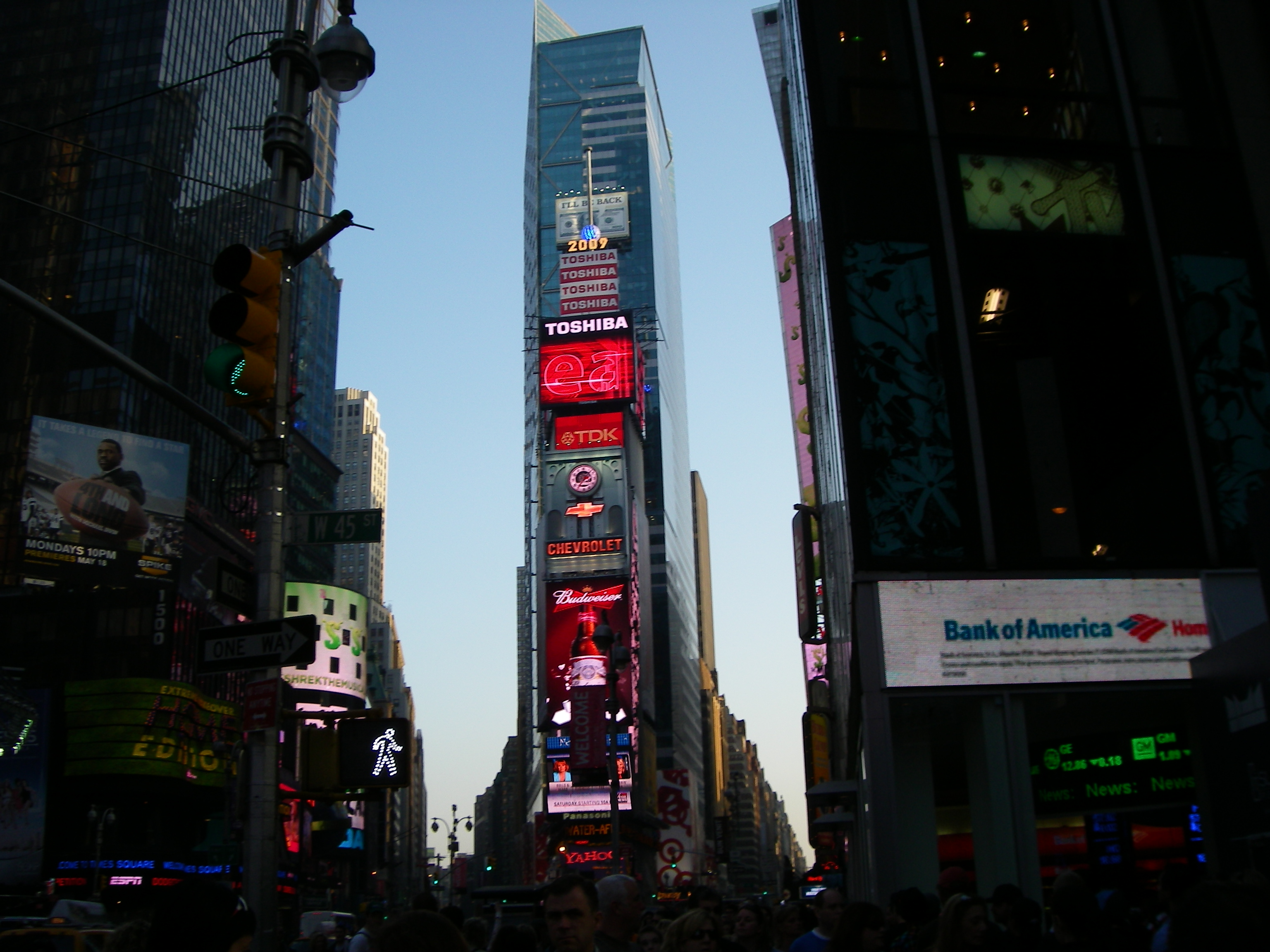 Image result for times square clock