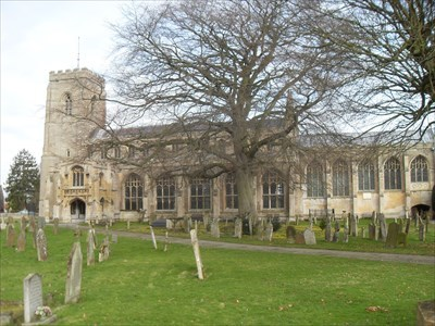 ...the parish church.