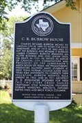 Image for C. R. Burrow House